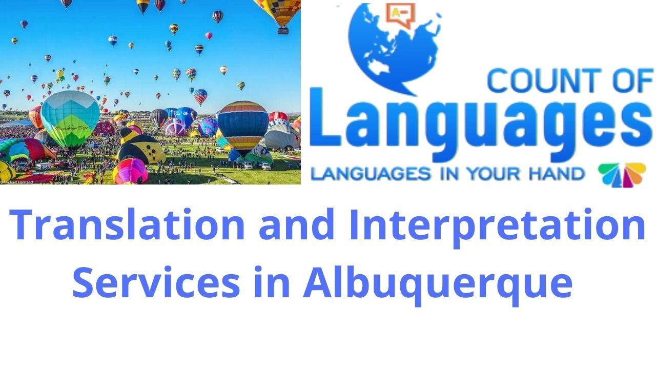 Professional Language Translation and Interpretation Services in Albuquerque